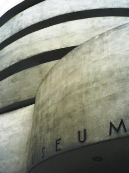 New York Guggenheim museum. L'astrazione delle forme pure.