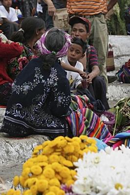 mercato di fiori - Messico